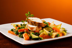 Grilled chicken fillet Royalty Free Stock Image