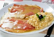 Chicken Prosciutto Stock Photography