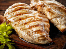 Free Grilled Chicken Fillets Stock Photos - 66089463