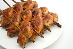 Grilled Chicken. Fried Chicken Wings (Thai style royalty free stock photos