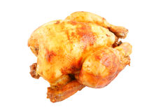 Grilled chicken isolated Stock Photos