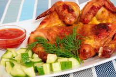 Grilled Chicken. Stock Image