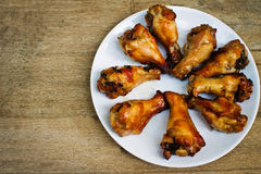 Grilled chicken leg Royalty Free Stock Photo