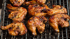 Grilled chicken legs Stock Photos
