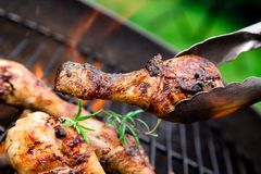 Grilled chicken Legs Royalty Free Stock Image