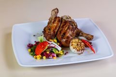 Grilled chicken legs Royalty Free Stock Photos