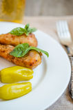 Grilled chicken legs Stock Image