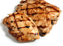 Grilled chicken meat steaks  Royalty Free Stock Photo