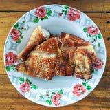 Grilled chicken. Pork roast chicken Stock Image