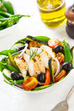 Grilled Chicken salad Stock Photos