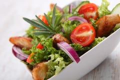 Grilled chicken salad Stock Photo