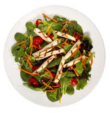 Grilled chicken salad dish Stock Photos