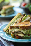 Grilled Chicken Sandwich Stock Photography