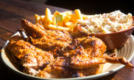 Grilled Chicken steak Stock Photography