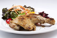 Grilled chicken steak Royalty Free Stock Image