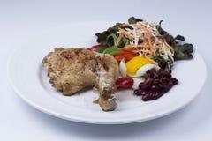 Grilled chicken steak Stock Images