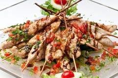 Grilled Chicken Teriyaki Royalty Free Stock Photos
