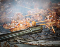 Grilled chicken Thailand. Stock Photo
