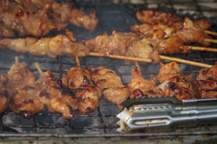 Grilled chicken Thailand. Stock Image