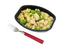 Grilled Chicken TV Dinner Stock Images