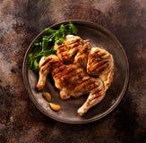 Grilled chicken Stock Photos