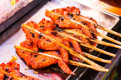 Grilled Chicken Wings. Stock Image