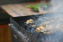 Grilled chicken wings Stock Image