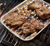 Grilled chuck steak Stock Photo