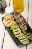 Grilled clasificó verduras Foto de archivo libre de regalías