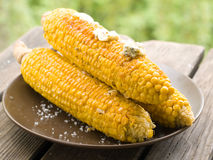 Grilled corn Royalty Free Stock Photos