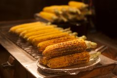 Grilled corn Royalty Free Stock Photo