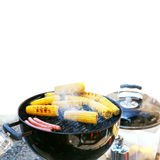 Grilled Corn barbecue Stock Images