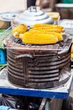 Grilled Corn Cob Royalty Free Stock Photo