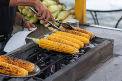 Grilled corn Stock Photos