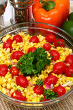 Grilled Corn Salad Stock Photos
