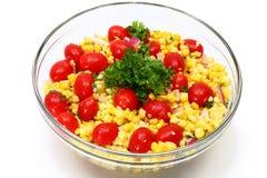 Grilled Corn Salad Stock Photos