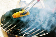 Grilled corn Royalty Free Stock Images