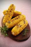 Grilled Corns Stock Photo