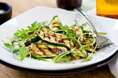 Grilled courgette salad Stock Photos