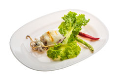 Grilled cuttlefish Royalty Free Stock Photography