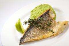 Grilled dorado fish Stock Photography