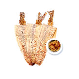 Grilled dried squid Stock Images