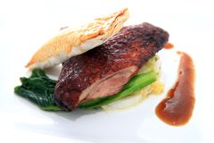 Grilled duck Stock Photography