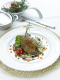 Grilled duck thigh Royalty Free Stock Image