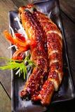 Grilled eels unagi Royalty Free Stock Photos
