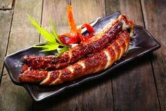 Grilled eels unagi Stock Photography