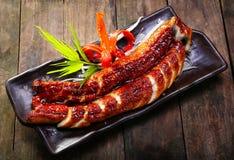 Grilled eels unagi Royalty Free Stock Photography