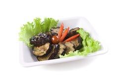 Grilled eggplant Stock Image