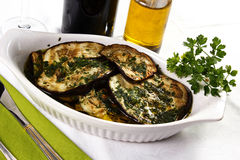 Grilled eggplant Royalty Free Stock Photography