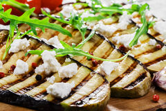 Grilled eggplant Royalty Free Stock Image